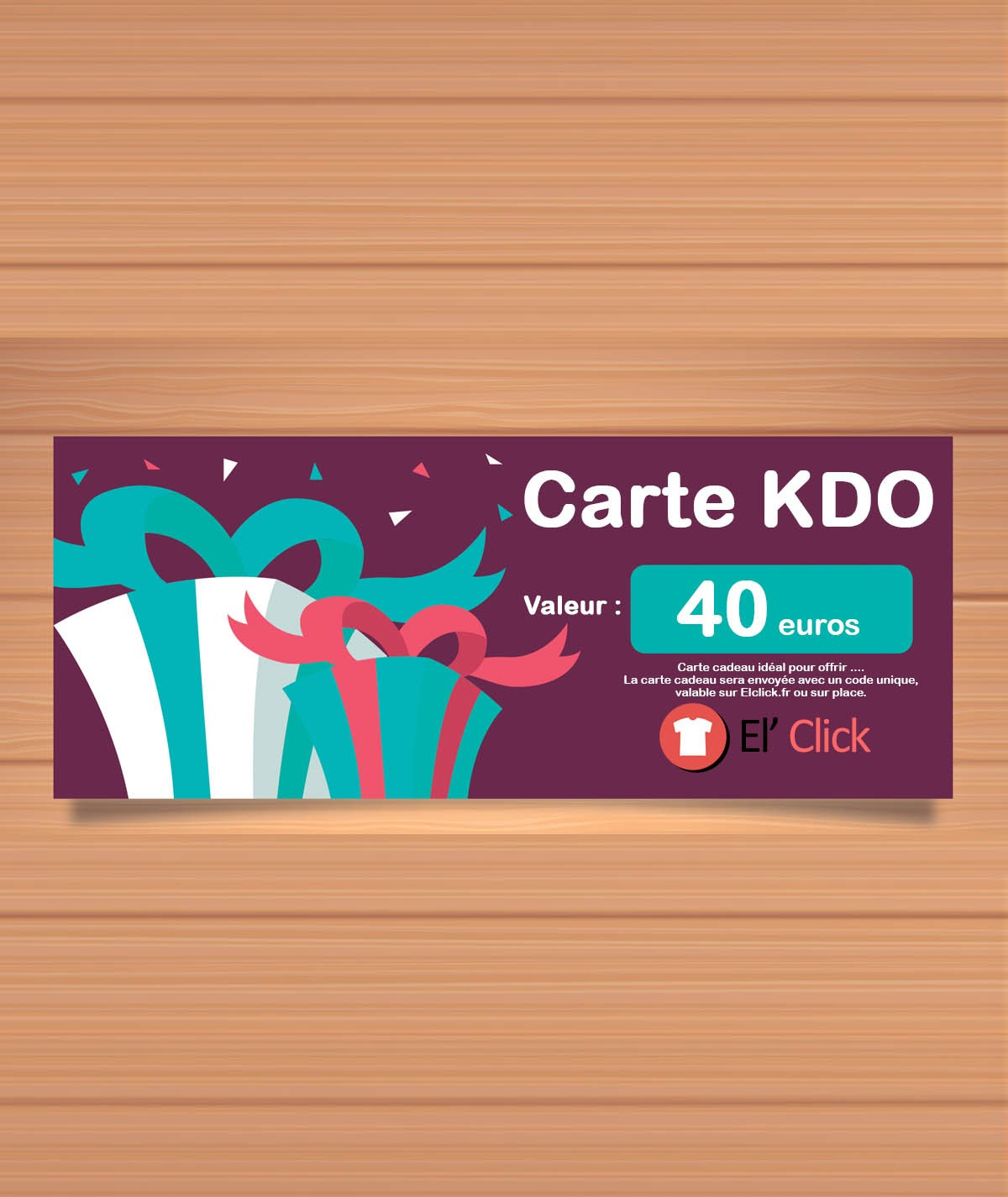 copy of Carte cadeau 100 euros